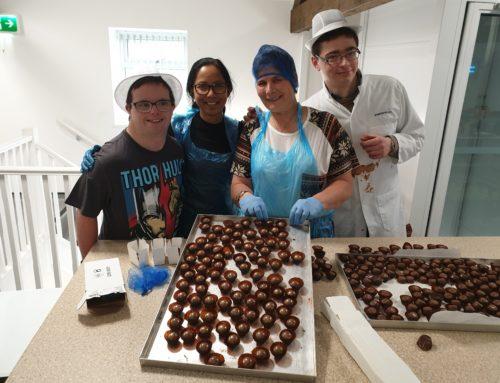 Community spirited chocolates from Autism Plus!