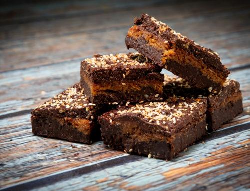 Vegan Coconut & Sesame Brownies: an award winner?