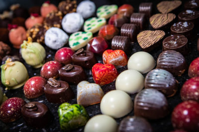Corporate chocolate making events