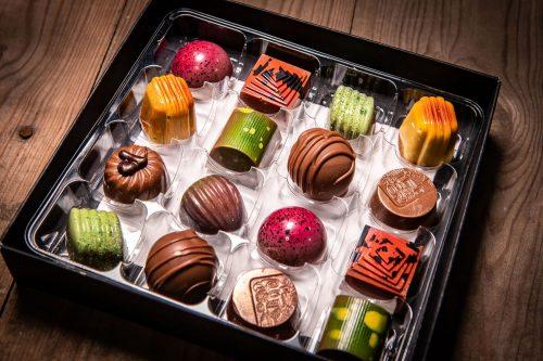 Selection box of 16 Handmade Milk Chocolates