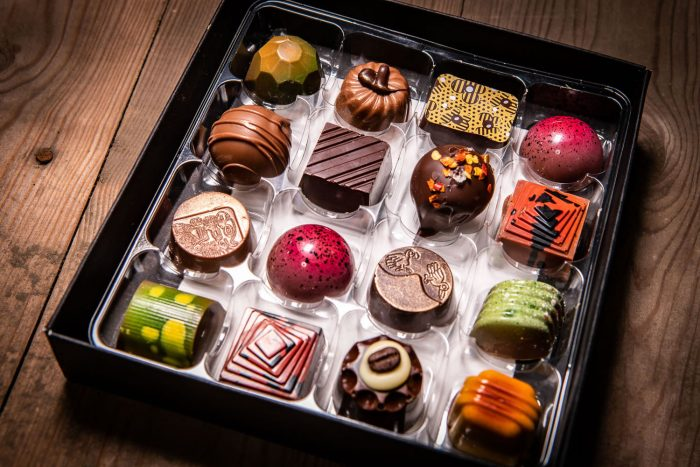 Selection box of 16 Milk & Dark Handcrafted Chocolates