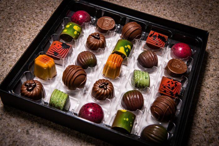 Selection box of 25 Handmade Milk Chocolates