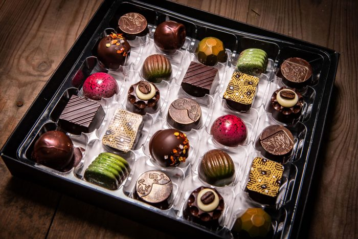 Selection box of 25 Milk & Dark Handcrafted Chocolates