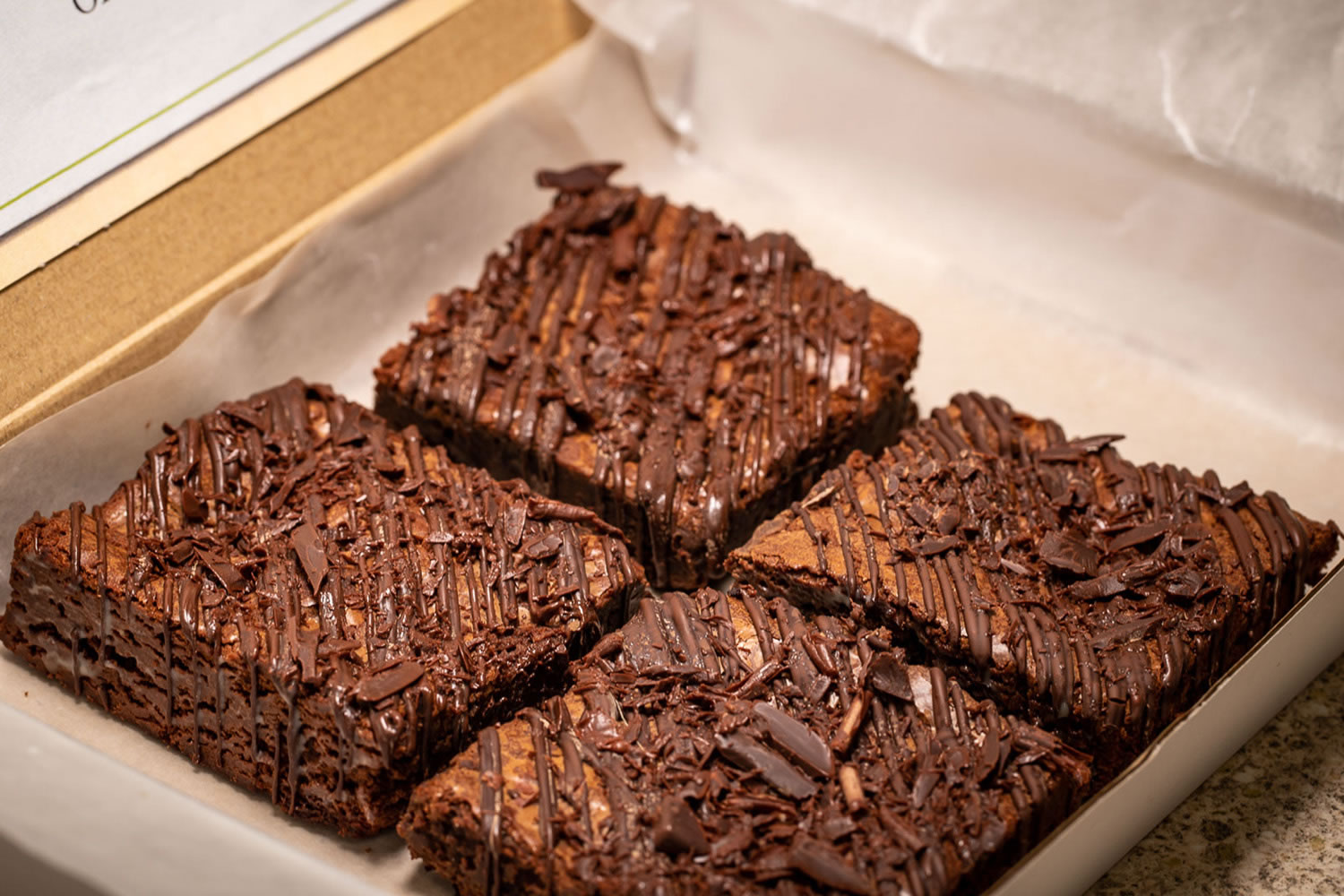 Double Chocolate Gluten Free Brownies