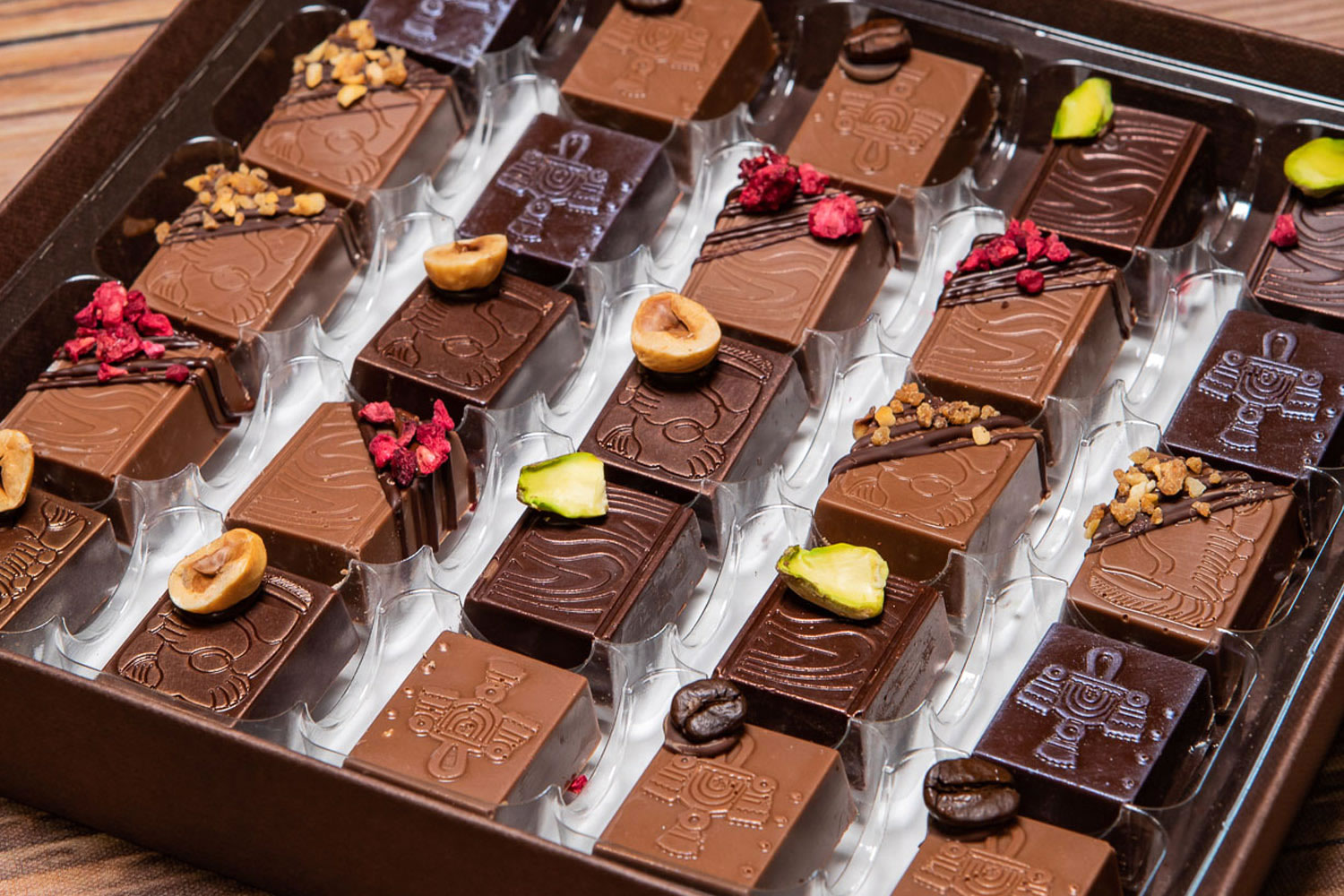 Handcrafted Praline Chocolates