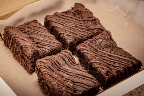 Vegan Double Chocolate Brownie
