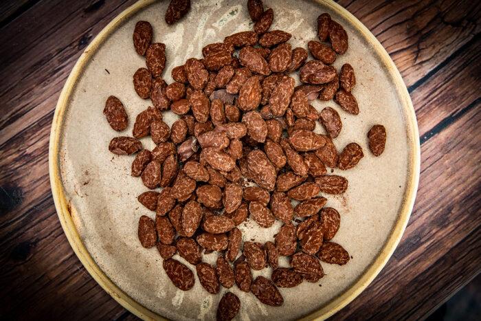 Chocolate Coated Roasted Almonds